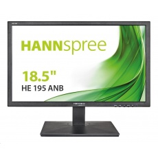"HANNspree MT LCD HE195ANB 18,5"" 1366x768, 16:9, 200cd/m2, 600:1 / 40M:1, 5 ms"