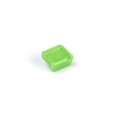 SMARTKEEPER Mini Mini USB Port Lock Type B 4 - 1x klíč + 4x záslepka, zelená