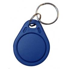 Elatec RFID Mifare čip, přívěsek na klíče, 13,56 MHz, modrý - 100 pack
