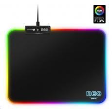 CONNECT IT podsvícená podložka pod myš NEO RGB, vel. S (320 × 245 mm)