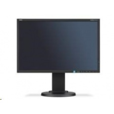 "NEC MT 22"" LCD MuSy E223W B W LED-TN,1680x1050/60Hz,5ms ,1000:1,250cd,DVI+DP+VGA"