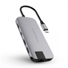 HyperDrive SLIM USB-C Hub - Space Gray