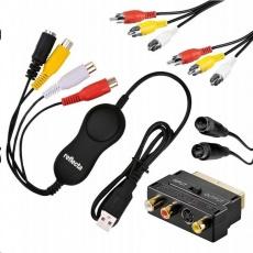 Reflecta VideoCaptue Set USB převodník AV videosignálu