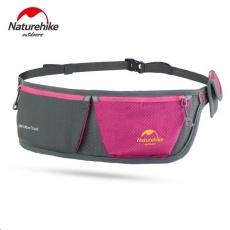 Naturehike běžecký/dokladový pás 54g - růžový