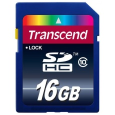 TRANSCEND SDHC karta 16GB Premium, Class 10