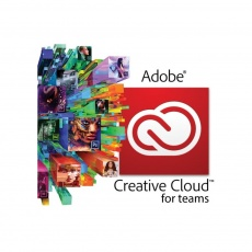 Creative Cloud for teams All Apps Multiple Platforms ML Licensing Subscription NEW 1 User Level 1 1-9 1 Month