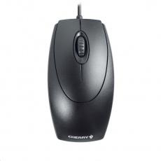 CHERRY myš Wheel, USB, adaptér na PS/2, drátová, černá