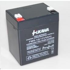 Baterie - FUKAWA FW 5-12 U (12V/5Ah - Faston 250), životnost 5let