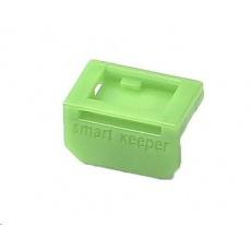 SMARTKEEPER Mini Mini DisplayPort Lock 4 - 1x klíč + 4x záslepka, zelená