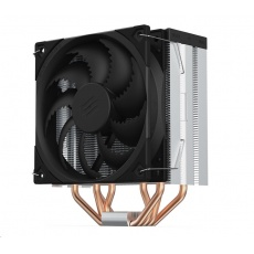 SilentiumPC chladič CPU Fera 5 ultratichý/ 120mm fan/ 4 heatpipes/ PWM/ pro Intel, AMD