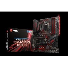 MSI MB Sc LGA1151 MPG Z390 GAMING PLUS, Intel Z390, VGA, 4xDDR4