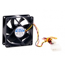 CHIEFTEC větrák AF-0825S, 80x80x25 mm Sleeve Fan, with 3/4pin connector