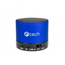 C-TECH repro SPK-04L, bluetooth, modré