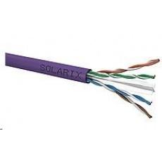 Instalační kabel Solarix UTP, Cat6, drát, LSOH, cívka 500m SXKD-6-UTP-LSOH