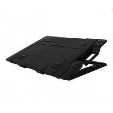 """ZALMAN chladící podložka ZM-NS2000, pro NoteBook do 17"""", výškově stavitelný, černá"""