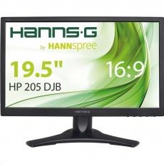 "HANNspree MT LCD HP205DJB 19,5"" 1600x900, 16:9, 250cd/m2, 1000:1 / 50M:1, 5ms"