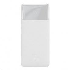 Baseus Bipow Powerbanka s digitálním displejem 20000mAh 15W bílá