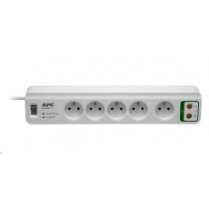 APC Essential SurgeArrest 5 outlets with coax protection 230V France, 1.8m