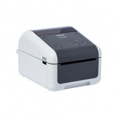 BROTHER tiskárna štítků TD-4520DN (tisk štítků, 300 dpi, max šířka štítků 108 mm) USB, LAN
