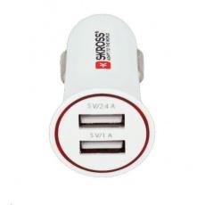SKROSS Dual USB Car Charger nabíjecí autoadaptér, 2x USB, 3400mA max