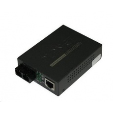 Planet FT-802 multimode ethernet konvertor s přepínačem 10/100BaseTX/FX (SC)