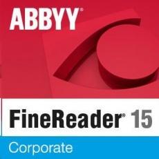 ABBYY FineReader PDF 15 Corporate, Single User License (ESD), EDU, Perpetual