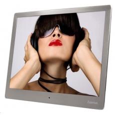 """Hama digitálny fotorámček Steel Premium, 24,64 cm (9,7""""), strieborný"""
