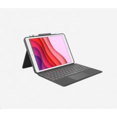 Logitech Pouzdro s klávesnicí Combo Touch for iPad (7th generation), UK, Graphite