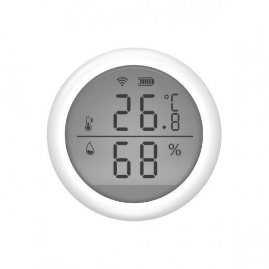 UMAX senzor teploty a vlhkosti s displejem a mobilní aplikaci U-Smart