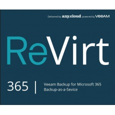 ReVirt backup Microsoft 365 (1USER/1M)