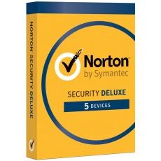 NORTON SECURITY DELUXE CZ  1 uživatel na 5 zařízení na 3 roky ESD
