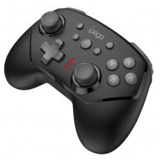 iPega Bluetooth herní ovladač 9162B pro N-Switch, černá
