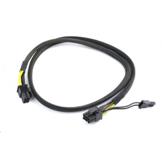 GEMBIRD Kabel CABLEXPERT PCI-Express 8pin (6+2) opletený kabel ke zdroji, 80cm