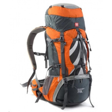 Naturehike expediční batoh 70+5l - oranžový