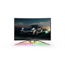 "AOC MT VA LCD WLED 27"" PD27 - VA panel, 2560x1440, 0,5ms, 2xHDMI, 2xDP, USB, repro, nast. vyska, porsche design"