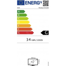 """EIZO MT IPS LCD LED 32"""", EV3285-WT,  16:9, 3840 x 21600, 350cd, 1300:1, DisplayPort, 2 x HDMI"""