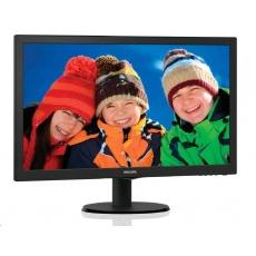 """Philips MT LED 23,6"""" 243V5LHAB/00 - 1920x1080, 10M:1, 250cd/m, 5ms,  D-Sub, DVI-D, HDMI, repro"""