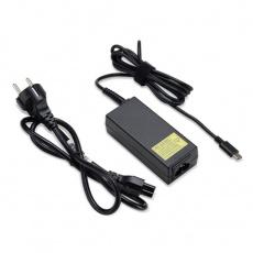 ACER ADAPTER Acer 65W_USB Type C Adapter, Black - pro zařízení s USB C