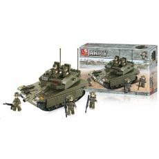 Sluban B-0305 Tank 344 dílků
