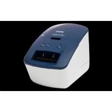 BROTHER tiskárna štítků QL-600B - 62mm, 71mms, termotisk, USB, SOHO Tiskárna Štítků