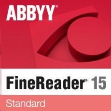 ABBYY FineReader PDF 15 Standard, Single User License (ESD), EDU, Perpetual