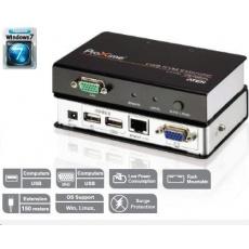 ATEN Extender PC-konzole na 150m USB až 1920x1200 bodů / surge