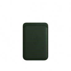 APPLE iPhone Leather Wallet with MagSafe - Sequoia Green