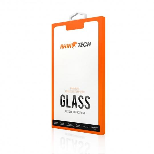 RhinoTech 2 Tvrzené ochranné 2.5D sklo pro Xiaomi Redmi Note 6 Pro (Edge Glue) Black