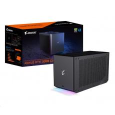 GIGABYTE Externí VGA NVIDIA RTX 3080 AORUS GAMING BOX Rev. 2.0, RTX 3080 LHR, 10G GDDR6X, 3xDP, 2xHDMI