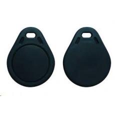 Elatec RFID Mifare čip, přívěsek na klíče, 13,56 MHz, černý