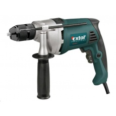 Extol Industrial vrtačka s příklepem, Click-lock, 850W 8790031