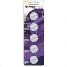 AgfaPhoto knoflíková lithiová baterie CR2450, blistr 5ks