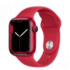 Apple Watch Series 7 Cell, 41mm (P)RED/(P)RED SportBand