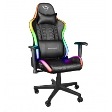 TRUST herní křeslo GXT 716 Rizza RGB LED Illuminated Gaming Chair